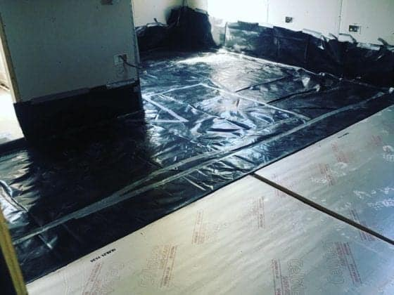 Underrfloor Heating Before 1